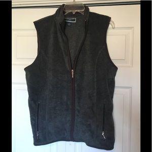 Karen Scott Fleece Vest - XL